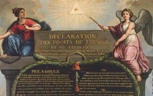 declaration des droits de l'homme et du citoyen