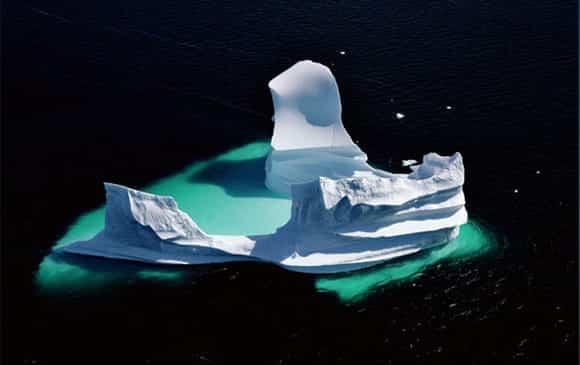 iceberg symbole du film HOME de yann arthus bertrand