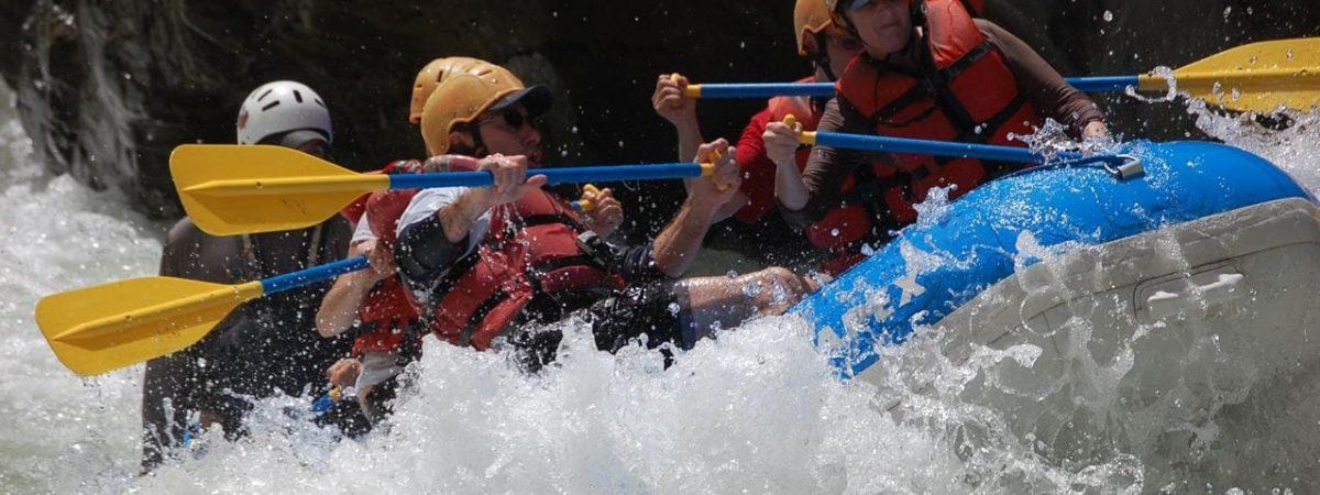 Rafting sur le Rio Pacuare au Costa Rica