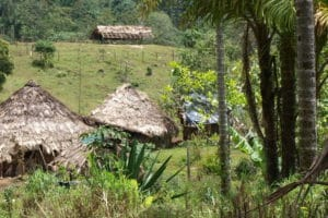 Village Cabecar sur les hauteurs de la cordillère de Talamanca au Costa Rica Ecotourisme et voyage solidaire
