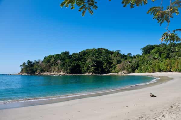 Destination balnéaire, la plage de Punta Uva