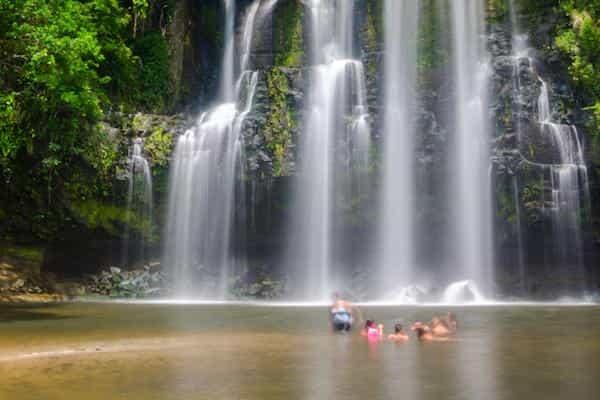 Llanos de Cortes, belle cascade au coeur du Guanacaste