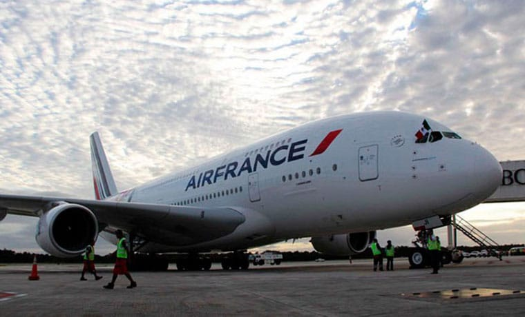 vol air france costa rica