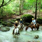 Balade à cheval Rincon de la Vieja
