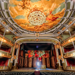 Plafond du théâtre national