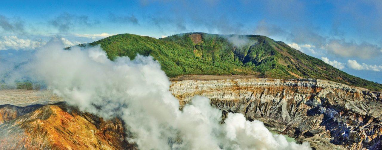 Le volcan Poas une belle étape de votre voyage sur mesure au Costa Rica