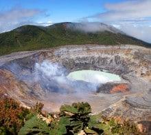 Première étape du circuit Volcan Poas