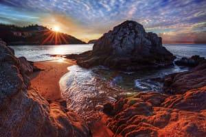 Des couchers de soleil magiques