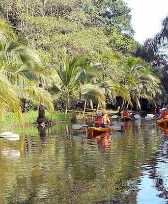 Circuit aventure en kayak, en rafting et en treck nature