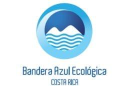 La bandeja azul Costa Rica logo