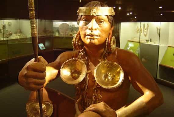 Parmi les activités culturelles au Costa Rica, le musée de l'or est incontournable