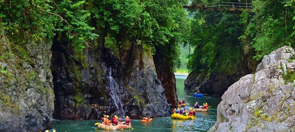 Rafing rio Pacuare