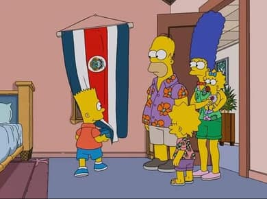 simpsons-drapeau-costa-rica-decouverte