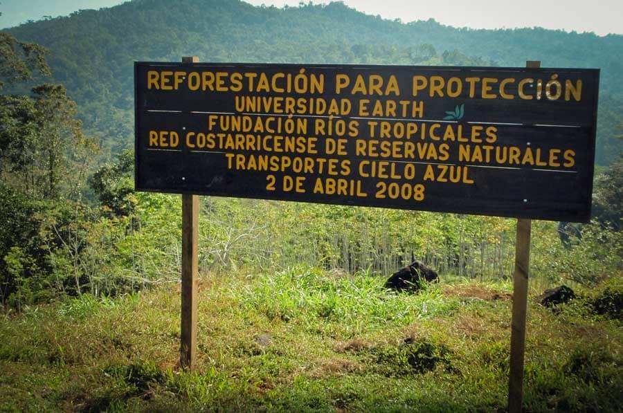 reforestation-panneau-costa-rica-decouverte